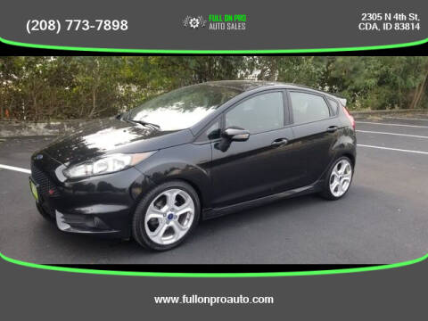 2014 Ford Fiesta for sale at Full On Pro Auto in Coeur D'Alene ID