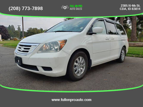 2009 Honda Odyssey for sale at Full On Pro Auto in Coeur D'Alene ID