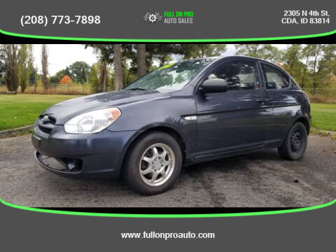 2011 Hyundai Accent for sale at Full On Pro Auto in Coeur D'Alene ID