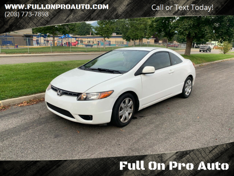 2008 Honda Civic for sale at Full On Pro Auto in Coeur D'Alene ID