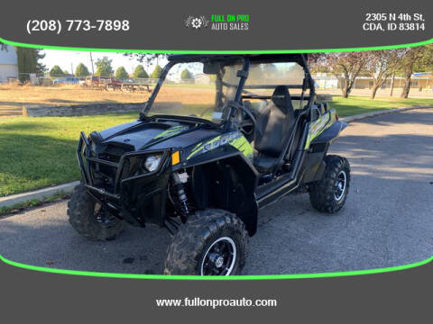 2013 Polaris Ranger RZR 900 for sale at Full On Pro Auto in Coeur D'Alene ID