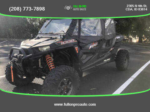 2018 Polairs RZR XP 4 1000 HIGH LIFTER for sale at Full On Pro Auto in Coeur D'Alene ID