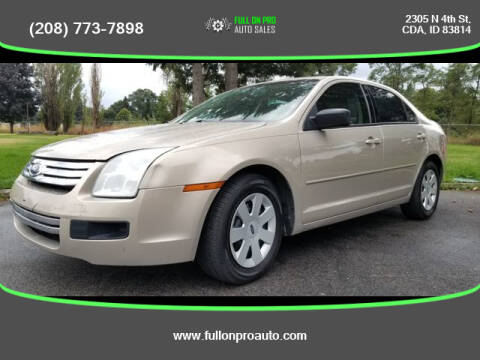 2007 Ford Fusion for sale at Full On Pro Auto in Coeur D'Alene ID
