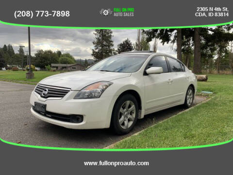 2009 Nissan Altima for sale at Full On Pro Auto in Coeur D'Alene ID