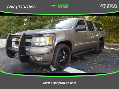 2007 Chevrolet Suburban for sale at Full On Pro Auto in Coeur D'Alene ID