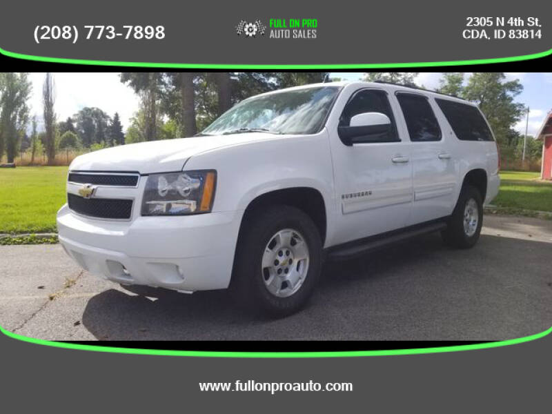 2010 Chevrolet Suburban for sale at Full On Pro Auto in Coeur D'Alene ID