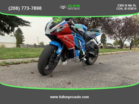 2014 Yamaha YZF-R6 for sale at Full On Pro Auto in Coeur D'Alene ID