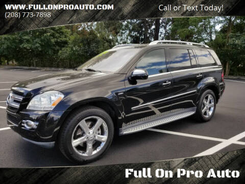 2009 Mercedes-Benz GL-Class for sale at Full On Pro Auto in Coeur D'Alene ID