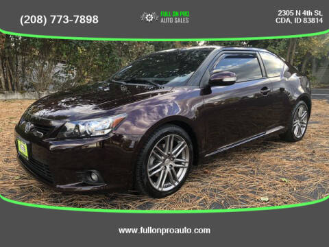 2013 Scion tC for sale at Full On Pro Auto in Coeur D'Alene ID