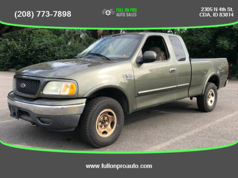 2002 Ford F-150 for sale at Full On Pro Auto in Coeur D'Alene ID
