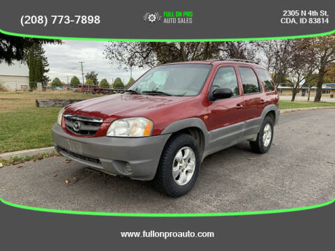 2001 Mazda Tribute for sale at Full On Pro Auto in Coeur D'Alene ID