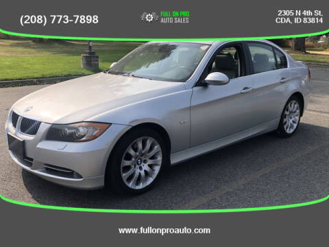 2008 BMW 3 Series for sale at Full On Pro Auto in Coeur D'Alene ID