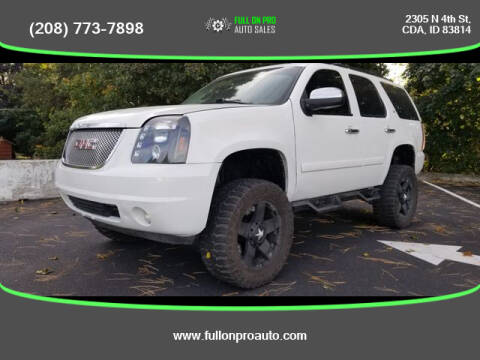 2008 Chevrolet Tahoe for sale at Full On Pro Auto in Coeur D'Alene ID