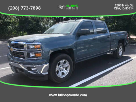 2014 Chevrolet Silverado 1500 for sale at Full On Pro Auto in Coeur D'Alene ID