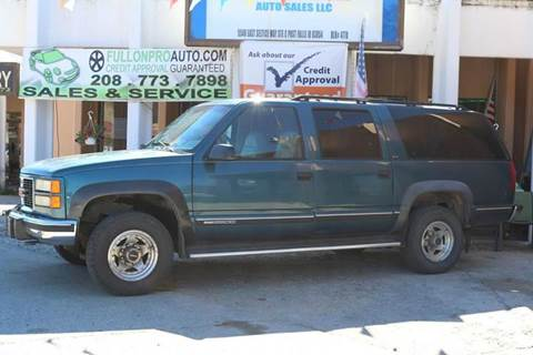 1994 GMC Suburban for sale in Coeur D'Alene, ID