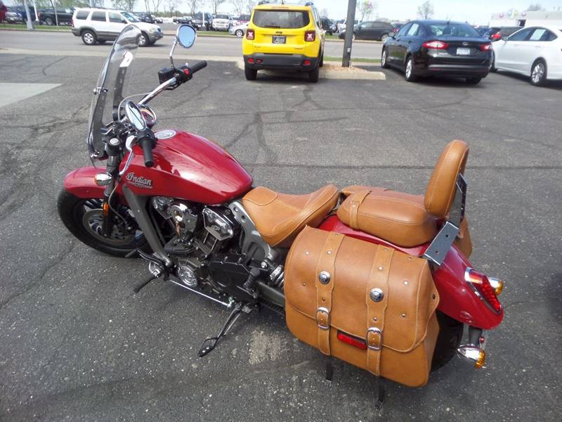 2015 Indian SCOUT motorcycle - Saint Cloud MN