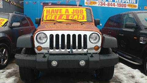2011 Jeep Wrangler for sale in Wayne, MI