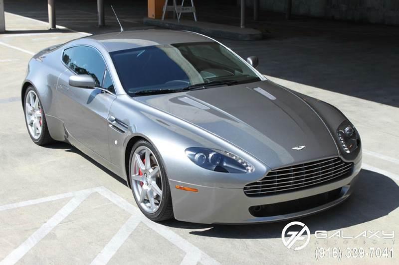 Aston Martin V Vantage In Sacramento CA Galaxy Autosport - Aston martin 2007