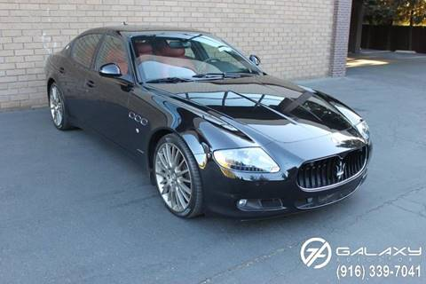 2011 Maserati Quattroporte for sale at Galaxy Autosport in Sacramento CA