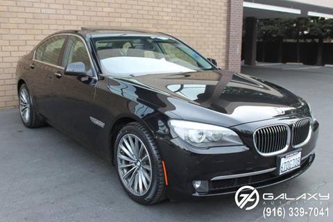 2012 BMW 7 Series for sale at Galaxy Autosport in Sacramento CA