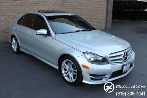 2013 Mercedes-Benz C-Class for sale at Galaxy Autosport in Sacramento CA