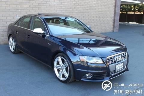 2010 Audi S4 for sale at Galaxy Autosport in Sacramento CA