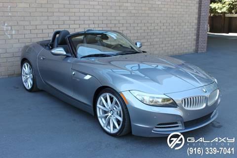 2012 BMW Z4 for sale at Galaxy Autosport in Sacramento CA