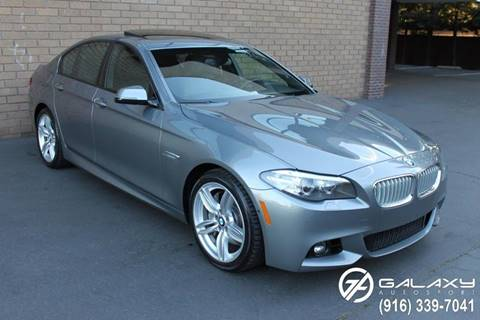 2014 BMW 5 Series for sale at Galaxy Autosport in Sacramento CA
