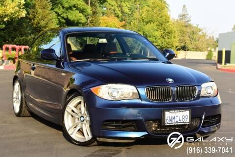 2012 BMW 1 Series for sale at Galaxy Autosport in Sacramento CA