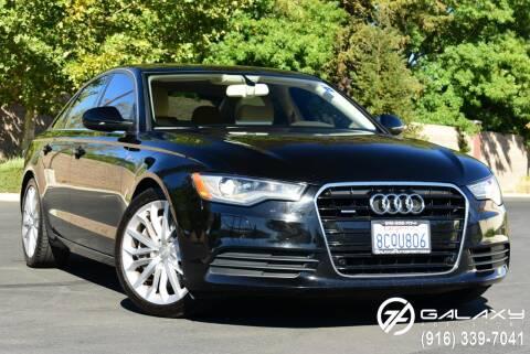2012 Audi A6 for sale at Galaxy Autosport in Sacramento CA