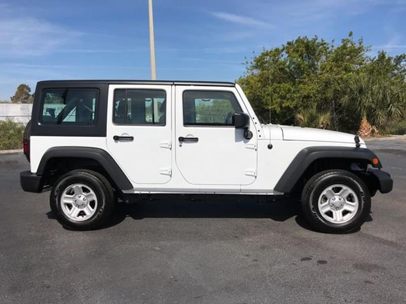 2016 Jeep Wrangler Unlimited 4x4 Sport 4dr SUV In Melbourne FL