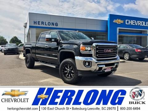 2016 GMC Sierra 2500HD for sale in Johnston, SC