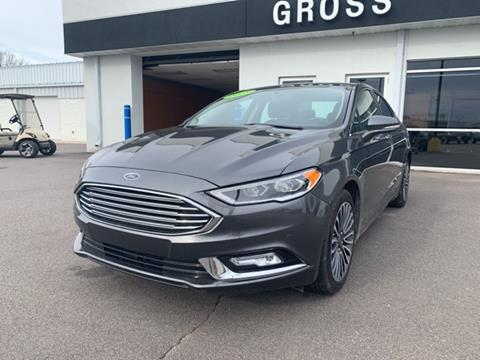2018 Ford Fusion for sale in Marshfield, WI