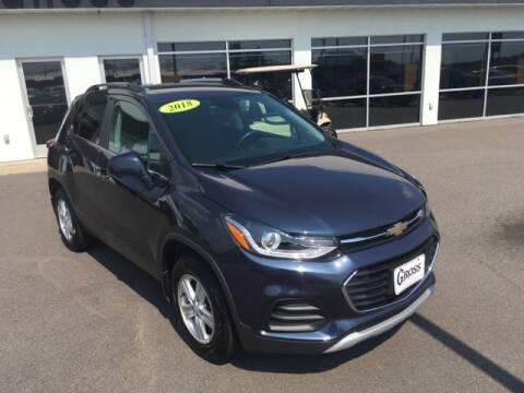 2018 Chevrolet Trax for sale at Gross Motors of Marshfield in Marshfield WI