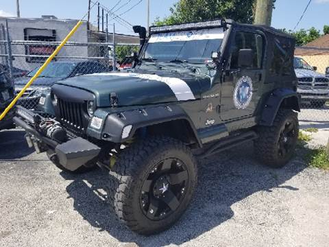2002 Jeep Wrangler for sale in Hollywood, FL