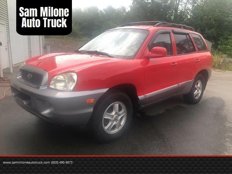 2004 Hyundai Santa Fe For Sale At Sam Milone Auto Truck In Plaistow NH