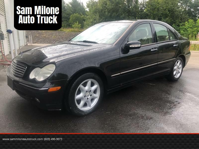 2004 Mercedes Benz C Class For Sale At Sam Milone Auto Truck In Plaistow