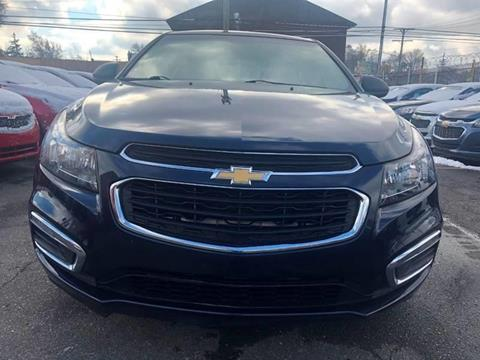 2016 Chevrolet Cruze Limited for sale in Detroit, MI