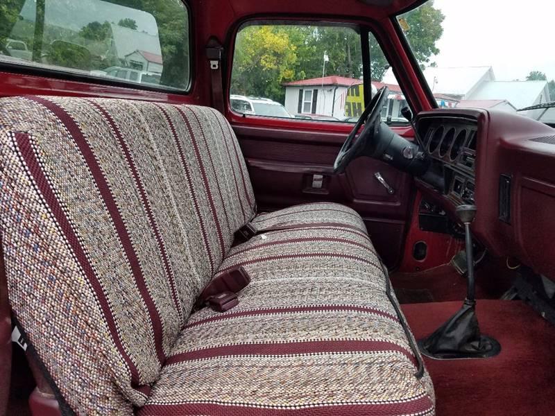 1989 Dodge RAM 100 2dr 4WD Standard Cab SB - Thomasville NC