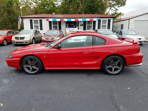 1997 Ford Mustang SVT Cobra for sale in Thomasville, NC
