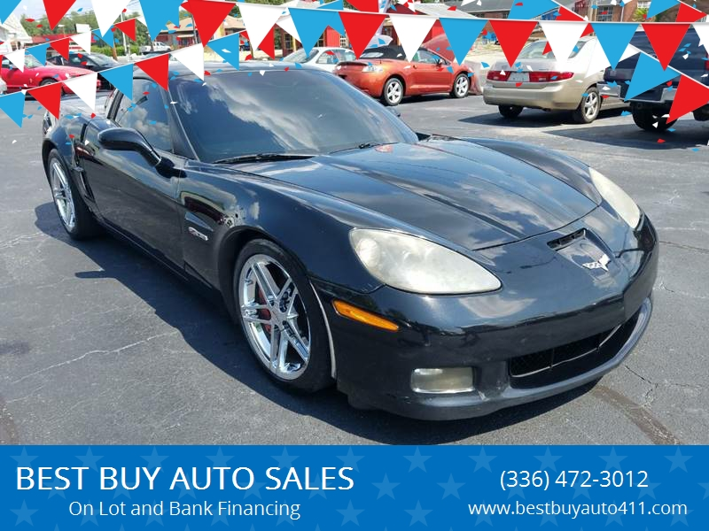 2007 Chevrolet Corvette Z06 2dr Coupe In Thomasville Nc Best Buy
