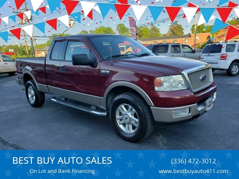 2004 Ford F-150 for sale in Thomasville, NC