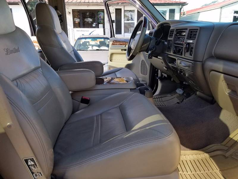 2001 Ford Excursion Limited 4WD 4dr SUV - Thomasville NC