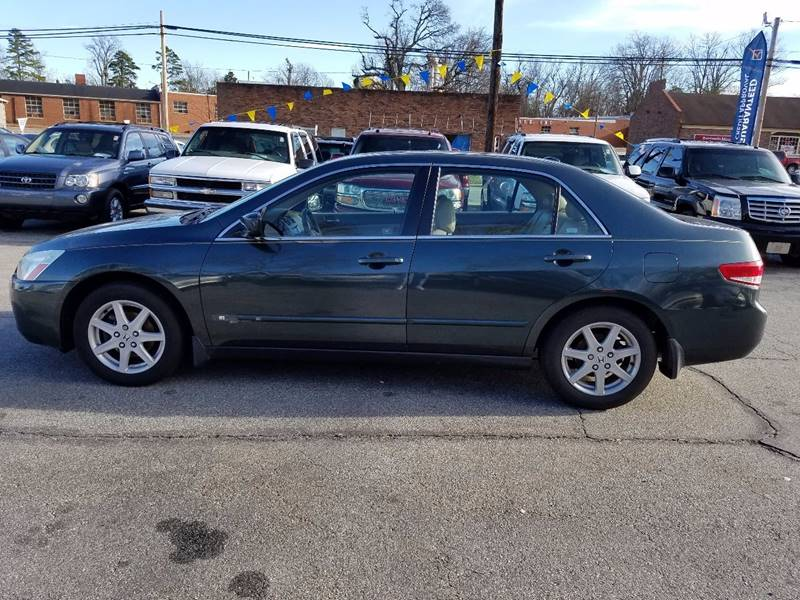 2004 Honda Accord EX V-6 4dr Sedan - Thomasville NC