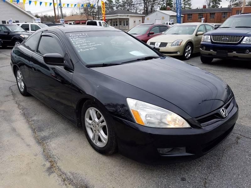 2007 Honda Accord EX 2dr Coupe (2.4L I4 5A) - Thomasville NC
