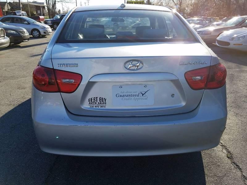 2008 Hyundai Elantra GLS 4dr Sedan - Thomasville NC