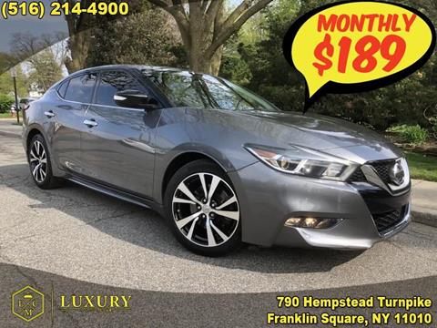 2016 Nissan Maxima for sale in Franklin Square, NY