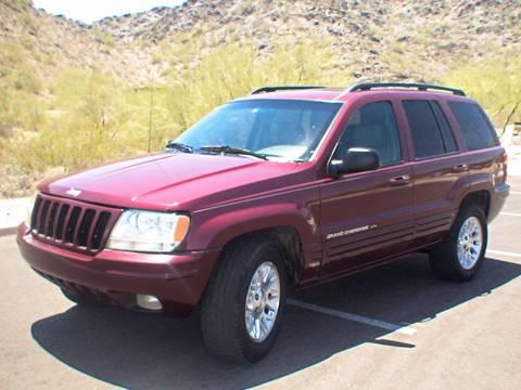 2002 Jeep Grand Cherokee for sale in Phoenix, AZ