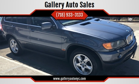 2002 BMW X5 for sale at Gallery Auto Sales in Bronx NY