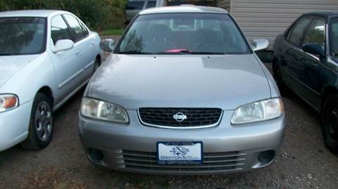 2001 Nissan Sentra for sale at Griffon Auto Sales Inc in Lakemoor IL